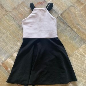 Black and white girls dress
